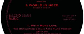 Joaquin Joe Claussell Presents - A world in Need - Double A Side EP