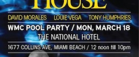 The 3 Kings of House 2013 Winter Music Conference Pool Party