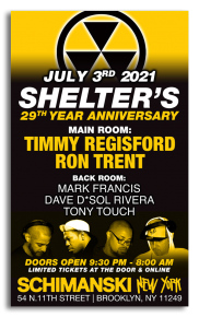 Shelter 29th Year Anniversary