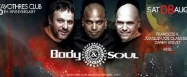 Katavothres Club 10th Anniversary with BODY & SOUL