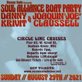Soul Alliance Boat Party 2021